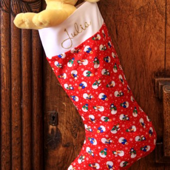Christmas Stocking – Tutorial
