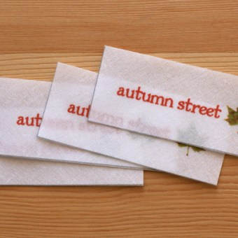 Printing Fabric Labels with Spoonflower