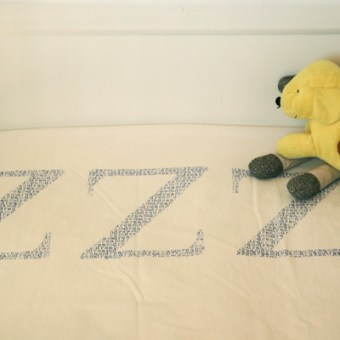 Pimp my Sheet – Stamped Bed Sheets
