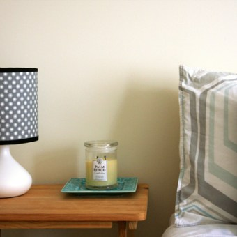 Recovering Lamp Shades – Tutorial