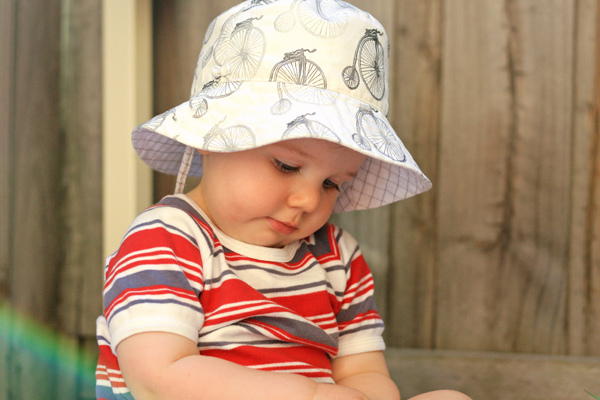 Oliver + S Bucket Hat - Free Pattern and Review - Things for Boys d4d00675680