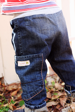 Toddler Pants from Adult Jeans