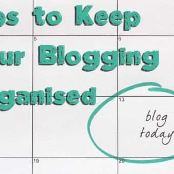 Keep your Blogging Time Efficient