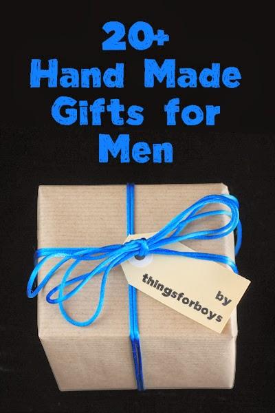 20 Handmade Gift Ideas For Men
