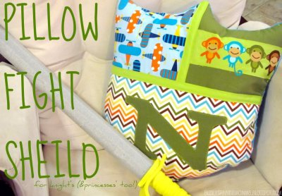 Pillow Fight Shield Cushion
