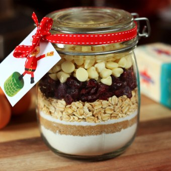 Cookies in a Jar with Free Printable