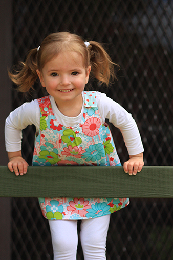 Roly Poly Pinafore