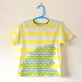 What Would Celina Do? Lego Stamped Tee