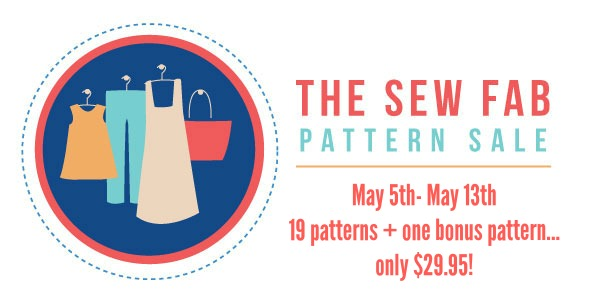 The Sew Fab Pattern Sale Spring 2014