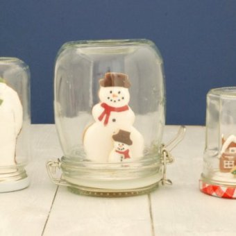 Cookie Snowglobes