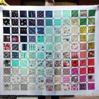 Cotton + Steel Quilt – A Work in Progress