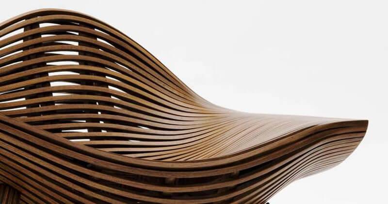 Sedia con braccioli moderna e di design, avocado. Le Piu Originali Sedie Di Design In Legno Design