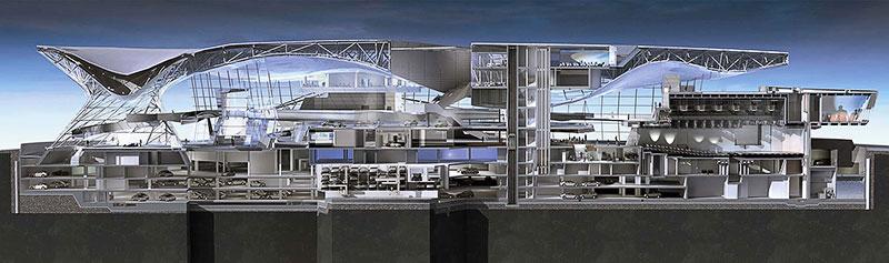 BMW Welt un tornado di vetro e acciaio  Architettura