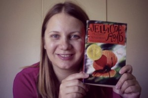 Amra Pajalic with her pick Jellicoe Road