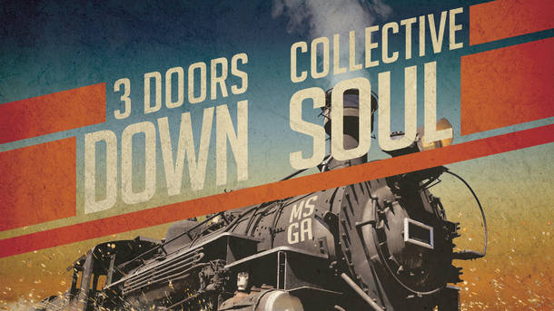 3 Doors Down and Collective Soul at the PNC Bank Arts Center