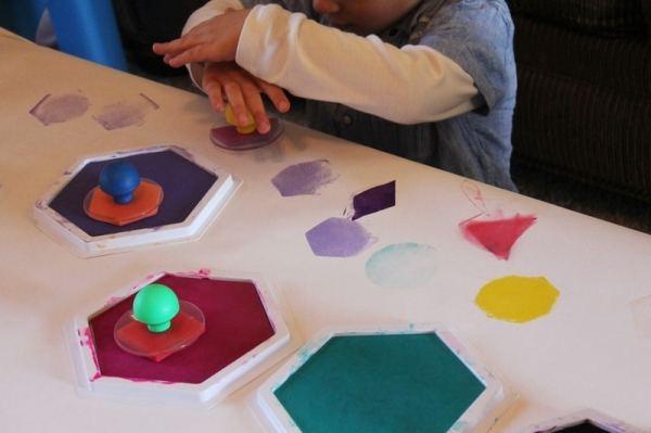 Exploring Shapes in Preschool