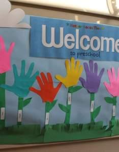 Preschool open house welcome banner also hosting  rh thingstoshareandremember