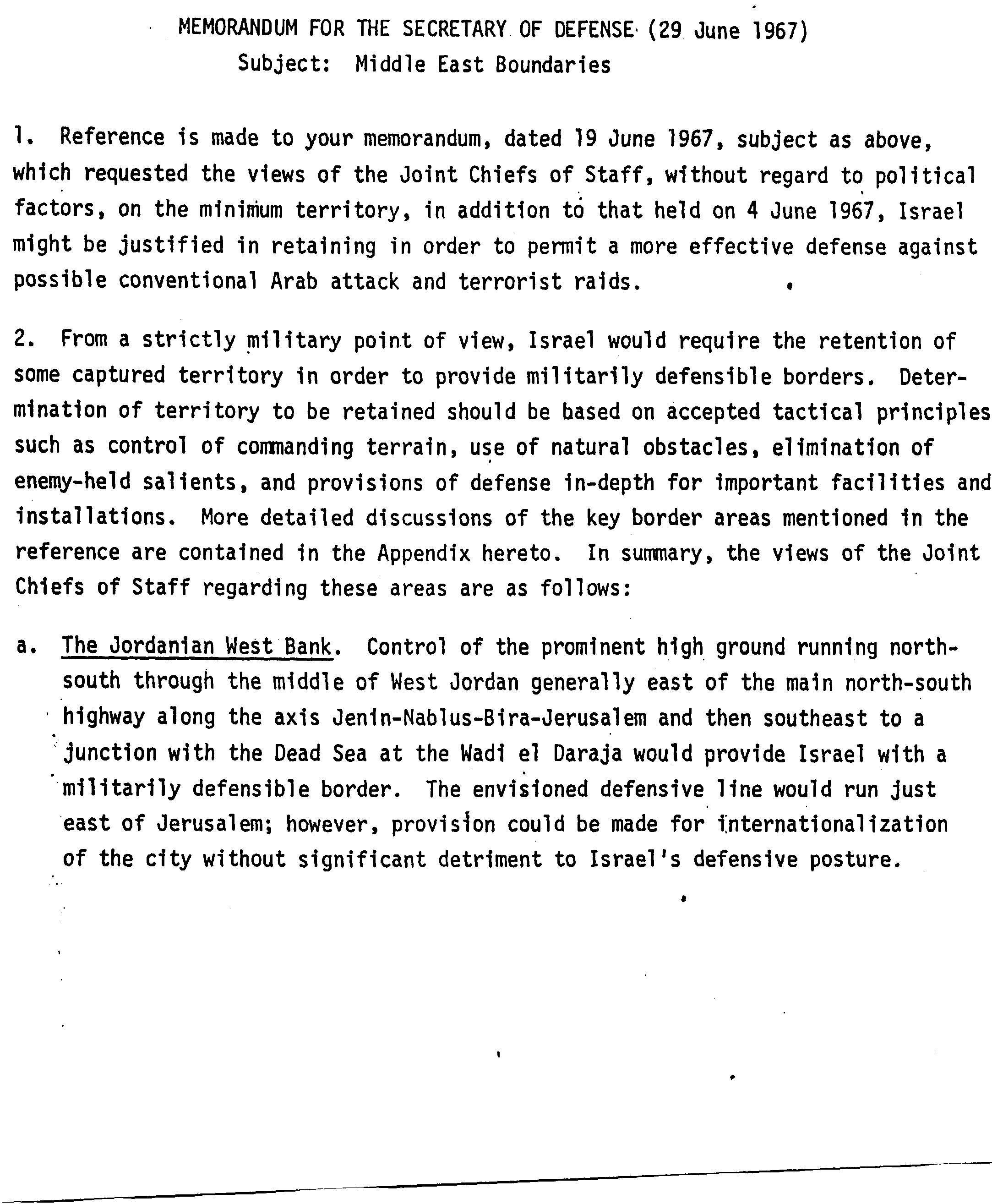 Think Israel Background Information