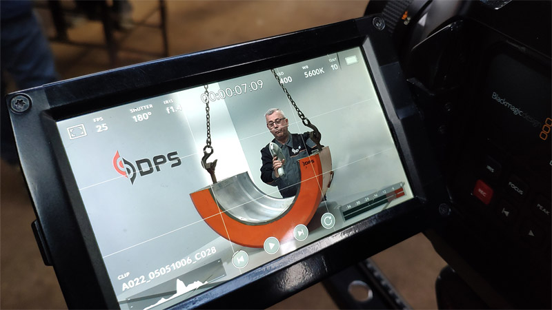 Corporate video for DPS behind the scenes