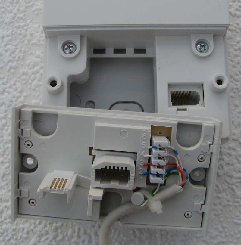An Insertion Tube On Wiring Telephone Extension From Bt Master Socket