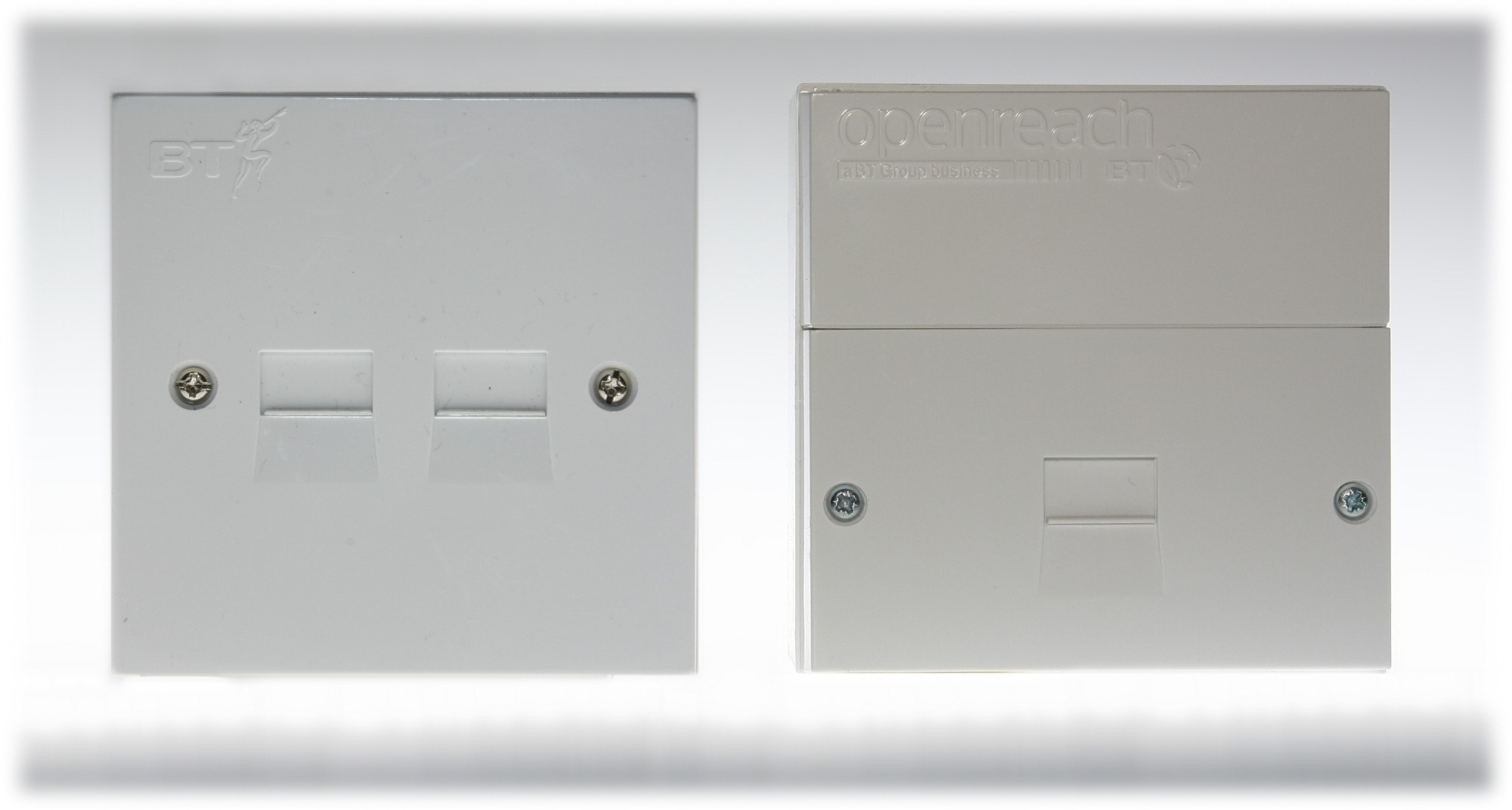 hight resolution of bt nte5 and non split faceplates
