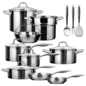 Duxtop Pro Best Induction Cookware Set