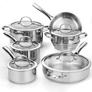 Cooks Standard NC-00391 Review - The Budget Stainless Steel Cookware Set