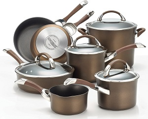 Circulon Symmetry Chocolate 11-Piece Cookware