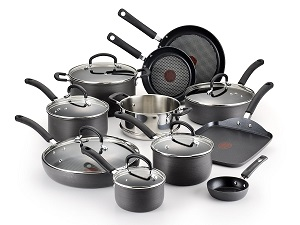 T-fal E765SH Ultimate Hard Anodized 17-Piece