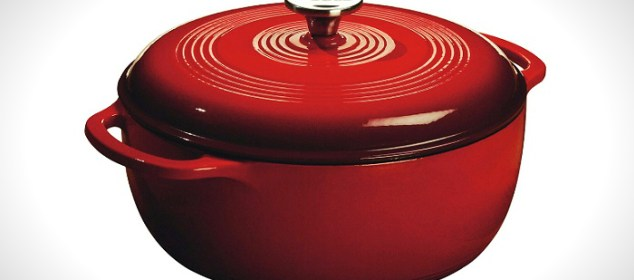 Lodge EC6D43 6-Qt Enameled Cast Iron Dutch Oven