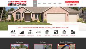 Concrete Leveling Solutions Web Design