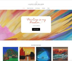 LA Balmes Art Web Design