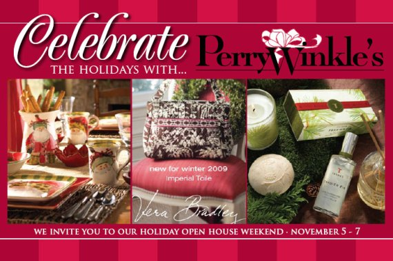 Perrywinkle's Open House Postcard