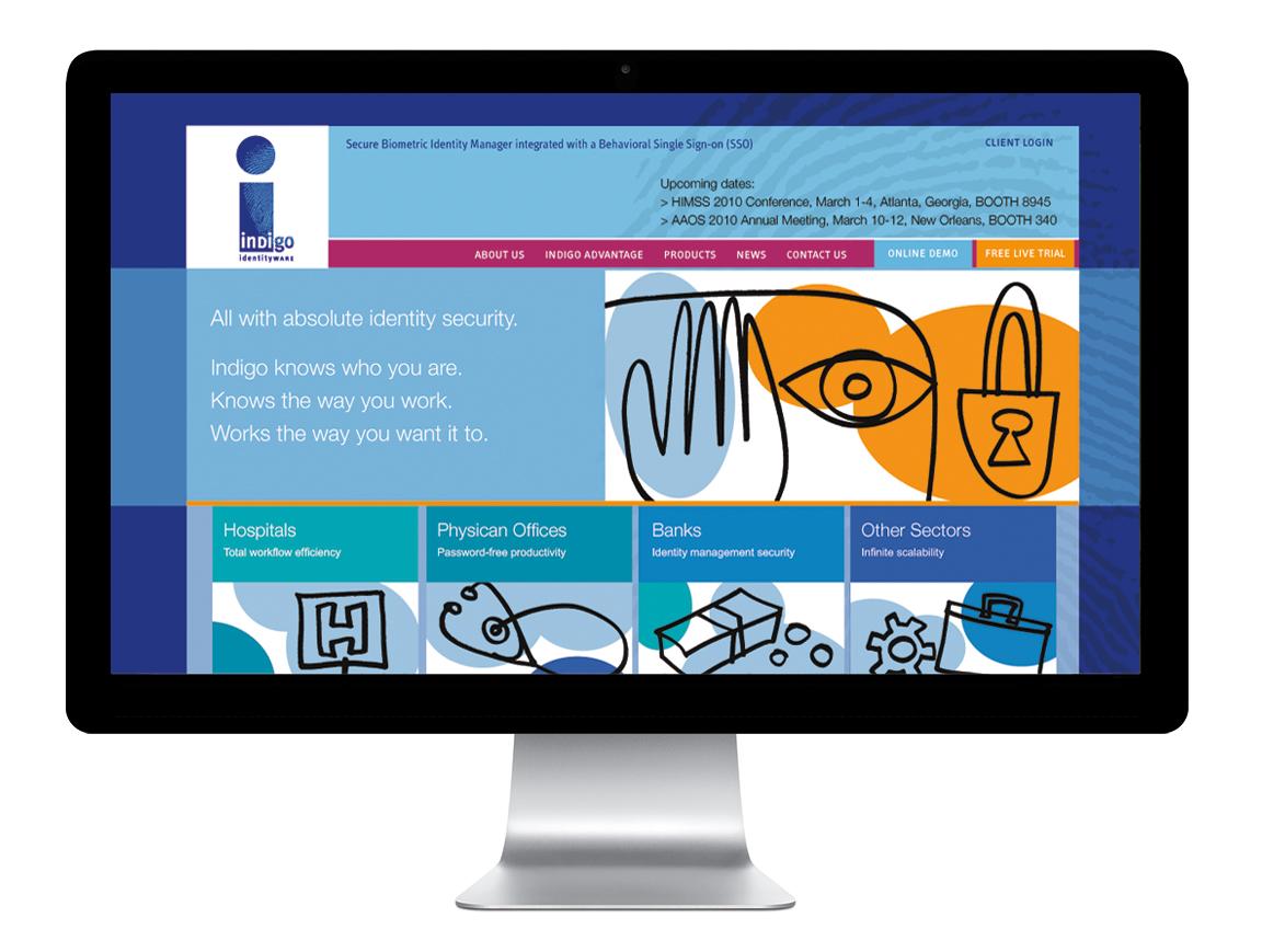 Indigo website
