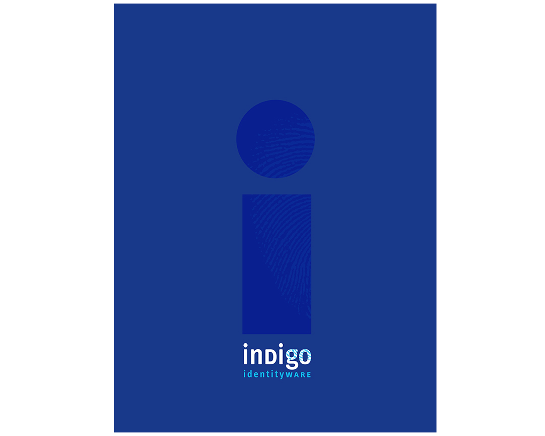 Indigo pocket folder