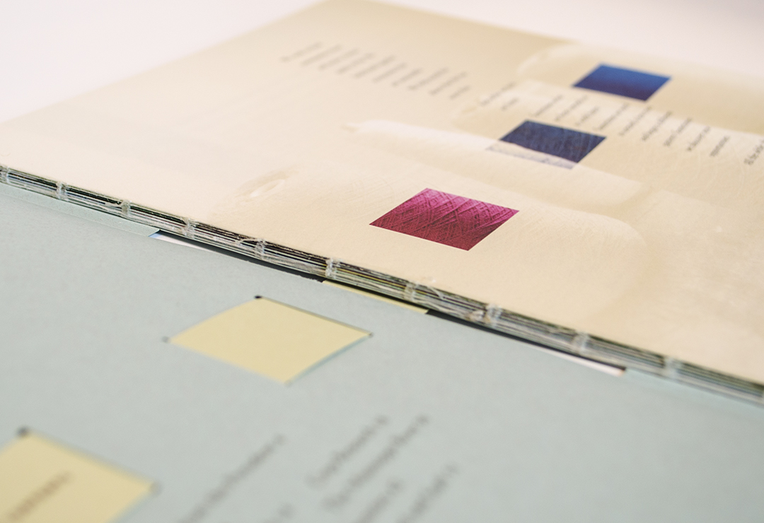 Common Thread Annual Report binding