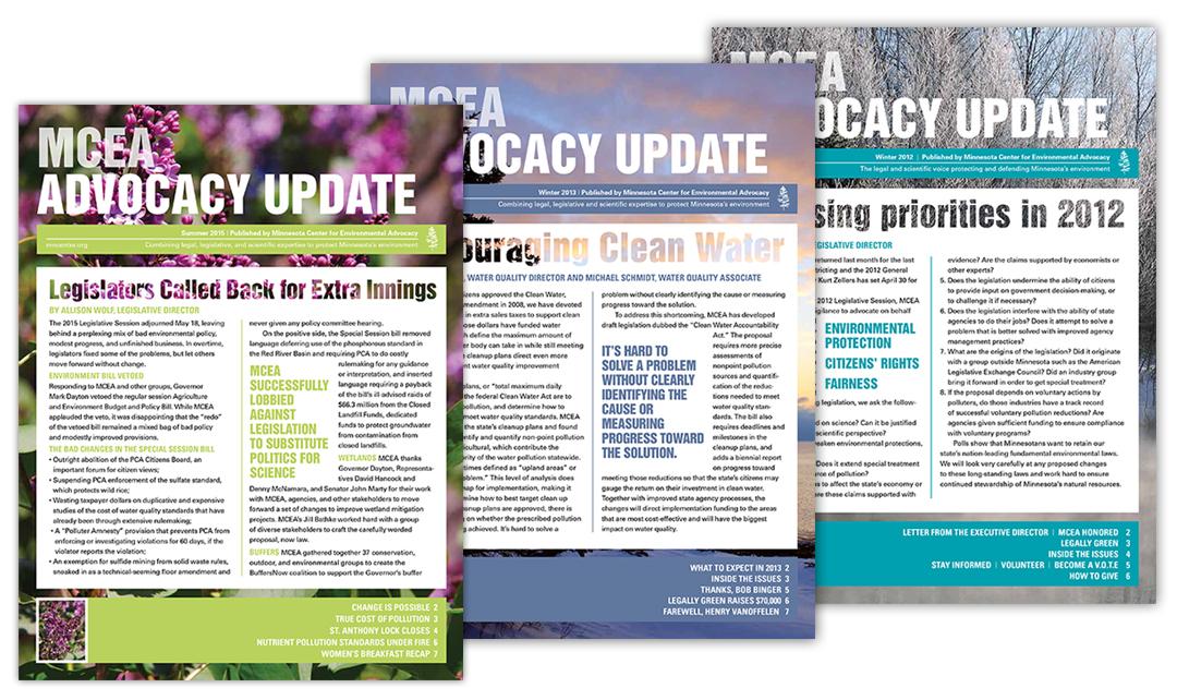 MCEA Newsletters