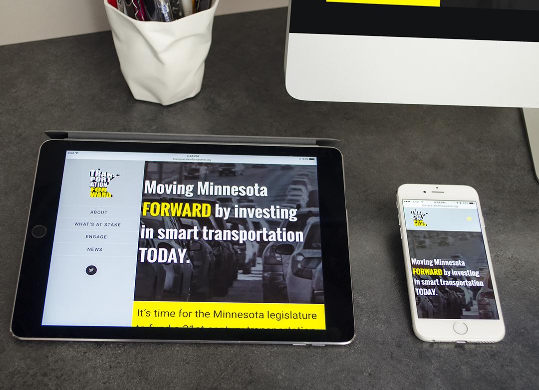 Transportation Forward Responsive Website