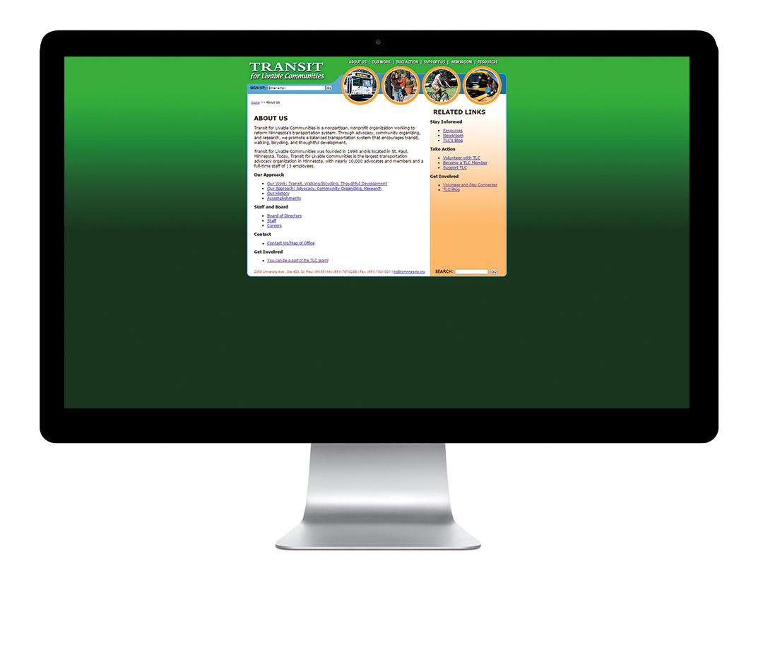 TLC Previous Website