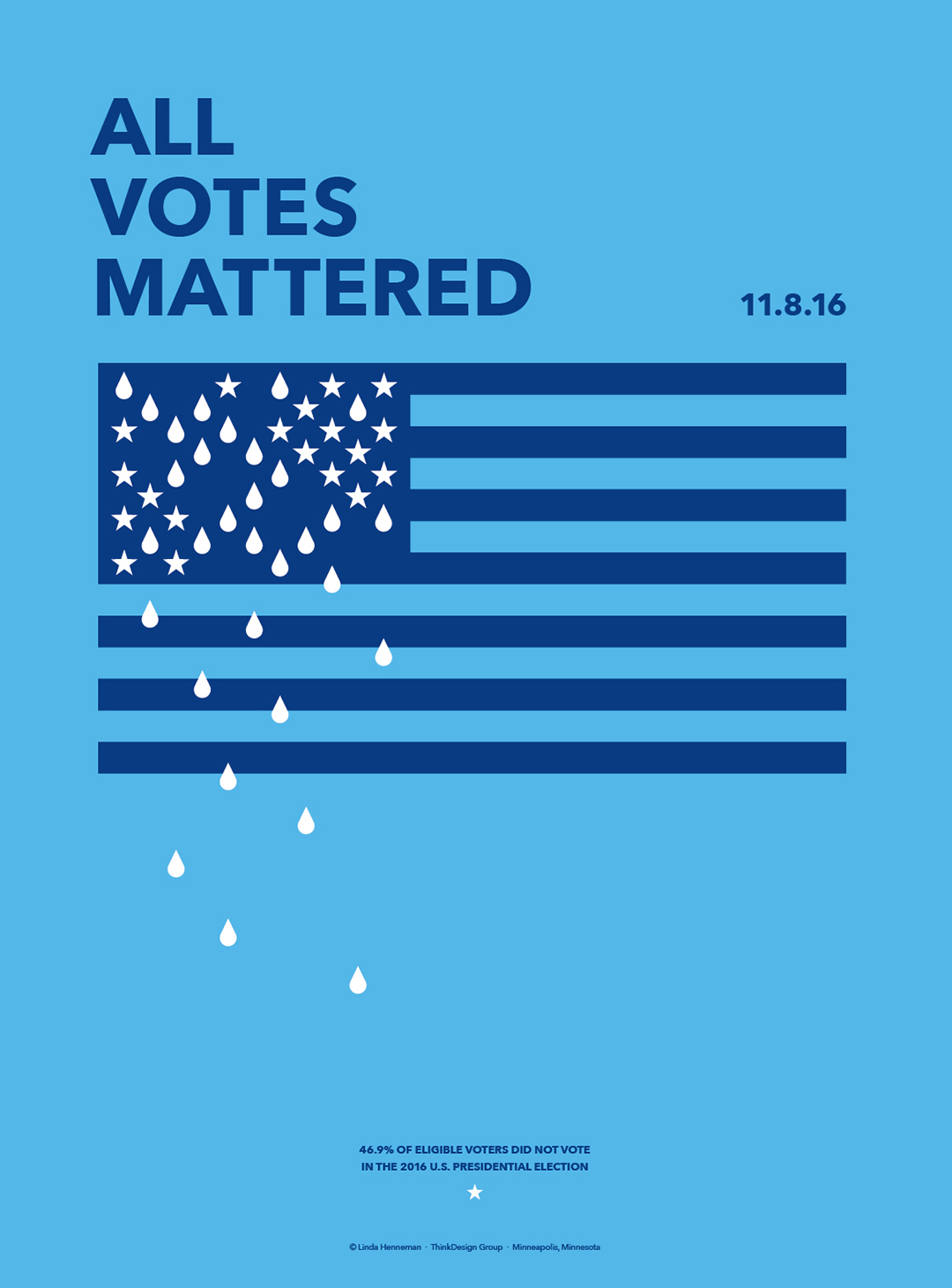 All Votes Mattered Poster