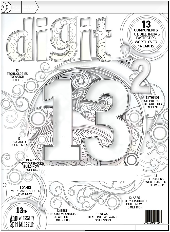 Digit turns 13! And to celebrate we have more goodies for