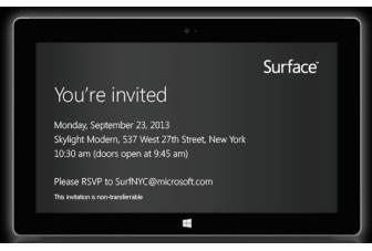 Microsoft to unveil new Windows Surface tablets on September 23