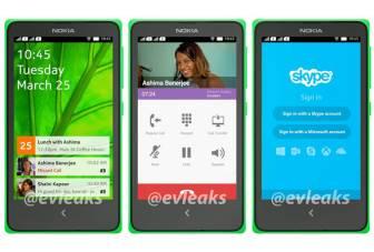 New Nokia Normandy leak reveals homescreen UI