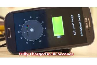 StoreDot claims to charge your smartphone battery in 30 seconds