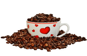 Una tazzina di caffè