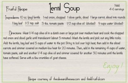 lentil-soup recipe