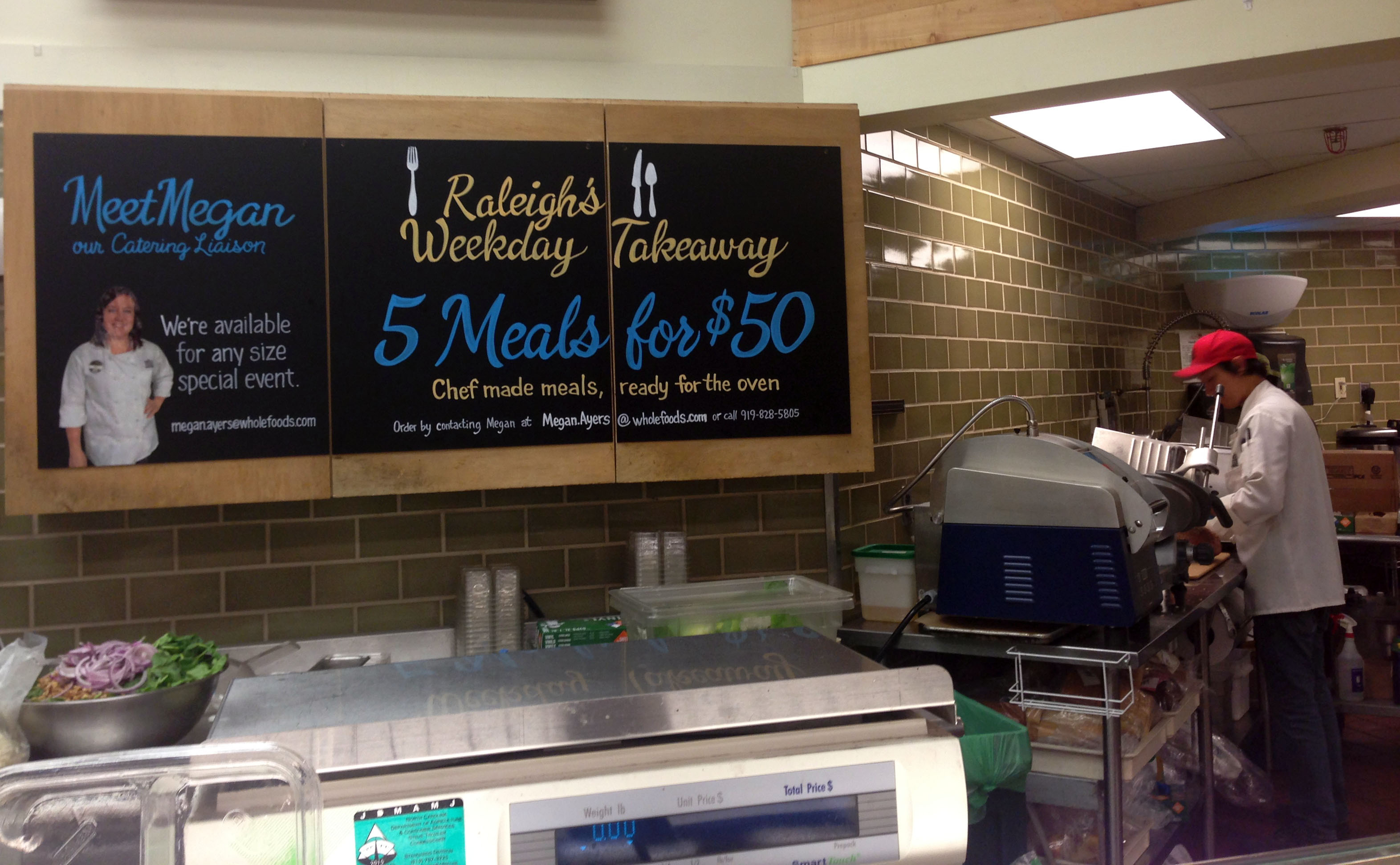 Whole Foods Raleigh Weekday Takeaway