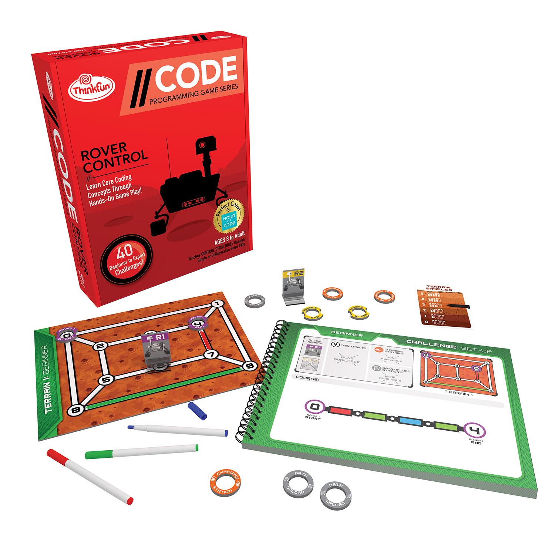 CODE: Rover Control - ThinkFun