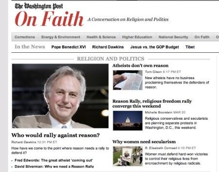 On Faith--Dawkins and My Answer