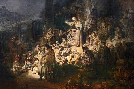 John the Baptist by Rembrandt van Rijn